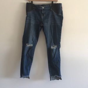 Isabel Maternity Distressed Skinny Size 12